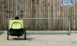 Parcheggio della bicicletta Fotografie Stock