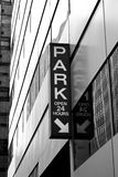 Parcheggio della città Immagini Stock Libere da Diritti