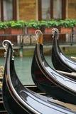 Parcheggio della gondola 2 Fotografia Stock