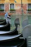 Parcheggio della gondola. fotografie stock libere da diritti