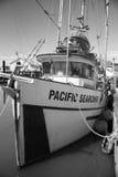 Parcheggio della nave nel porto immagini stock libere da diritti