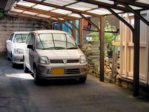 Parcheggio delle automobili fotografie stock libere da diritti