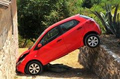 Parcheggio difettoso Fotografie Stock Libere da Diritti