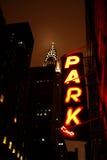 Parcheggio a New York Fotografia Stock Libera da Diritti