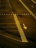 Parcheggio spettrale Fotografie Stock