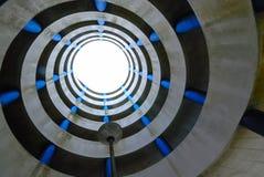 Parcheggio a spirale Fotografia Stock