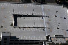 Parcheggio superiore del tetto Fotografie Stock Libere da Diritti