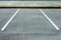 Parcheggio vuoto Immagini Stock