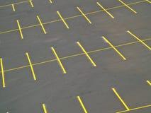 Parcheggio vuoto Immagine Stock