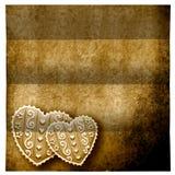 Parchemin d'amour Photos libres de droits