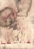 Parchemin réutilisé par brun grunge léger avec des taches photo stock
