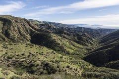 Parchi della montagna della contea di Los Angeles Fotografia Stock Libera da Diritti