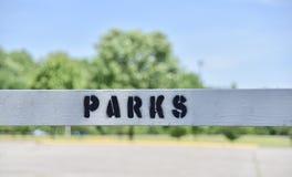 Parchi e divisione di ricreazione fotografia stock libera da diritti