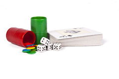 Parchis dice Royalty Free Stock Photography
