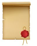 Parchment Stock Photography