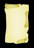 Parchment. A illustration of parchment paper royalty free illustration