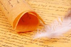 parchment Royaltyfria Bilder