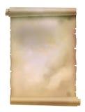 Parchment. Roll of parchment paper texture background Stock Image
