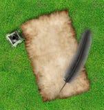 parchment 9 Royaltyfria Foton