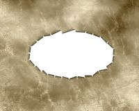 Parchment, antique background texture  Royalty Free Stock Photo