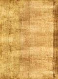 Parchment background. Parchment. A fragment of the Egyptian parchment made in 19 century Stock Images