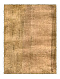 Parchment background. Parchment. A fragment of the Egyptian parchment made in 19 century Royalty Free Stock Photography