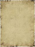 Parchment Background Texture. High resolution antique paper parchment texture background Stock Image