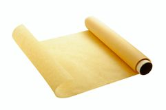 Parchment for baking Stock Image