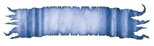 Parchment Banner. Illustration of ancient parchment Royalty Free Stock Photo