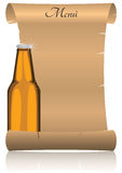 Parchment beer Royalty Free Stock Images
