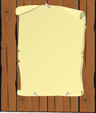 Parchment cartoon Royalty Free Stock Images