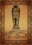 Parchment-Egyptian Royalty Free Stock Images