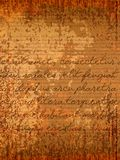 Parchment. Old parchment background with hand written text. EPS10 vector royalty free illustration