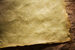 Parchment paper background Stock Photography