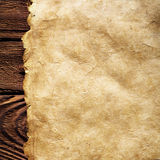 Parchment paper background Stock Image