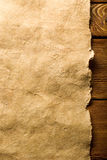 Parchment paper background Royalty Free Stock Photography