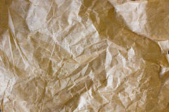Parchment paper texture. Closeup view of list of parchment Royalty Free Stock Images
