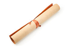 Parchment roll Stock Photos