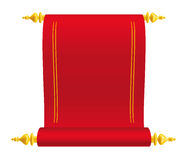 Parchment Scroll Royalty Free Stock Photo
