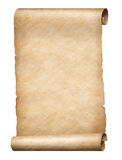 Parchment Scroll Stock Image
