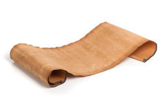 Parchment scroll Stock Photography