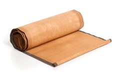 Parchment scroll Stock Photo