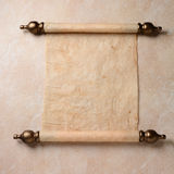 Parchment Scroll Stock Photos