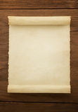 Parchment scroll Royalty Free Stock Image