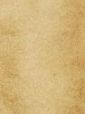 Parchment texture. Focus on entire surface Stock Image
