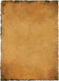 Parchment Texture. High resolution antique paper parchment texture Stock Photo