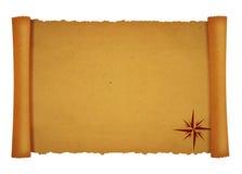 parchmentscroll Royaltyfri Bild