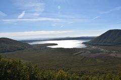 Parck озера Стоковая Фотография