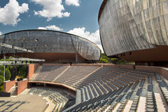 parco Ρώμη Ρώμη musica della αιθουσών συν&epsilon Στοκ φωτογραφία με δικαίωμα ελεύθερης χρήσης