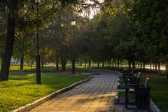 Parco Fotografia Stock Libera da Diritti